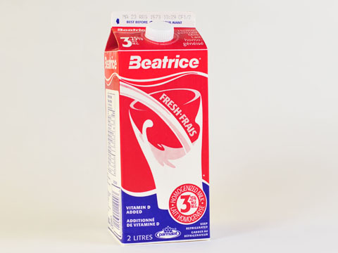 Beatrice 3% White Milk - 2L